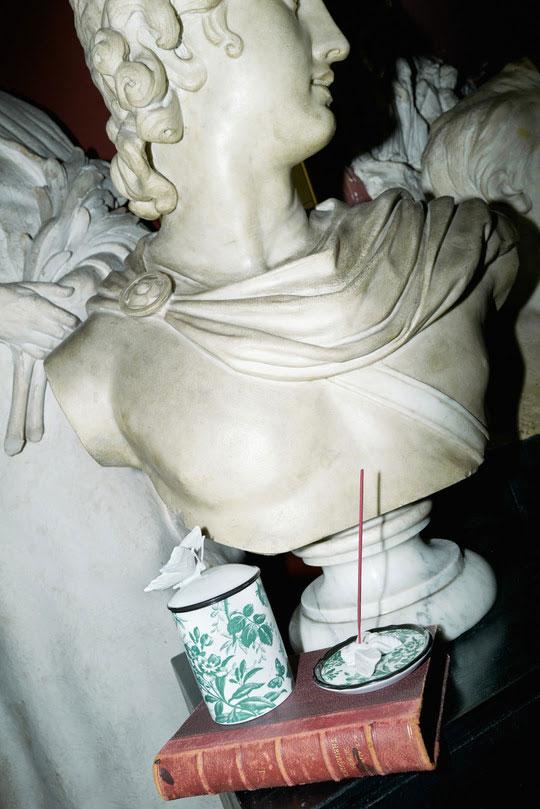 Porslin av Ginori 1735 i samarbete med Gucci Décor