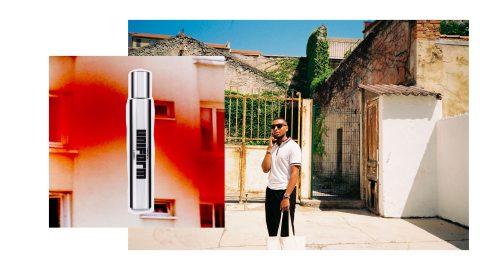 Haisam Mohammed har grundat parfymoljeföretaget Uniform