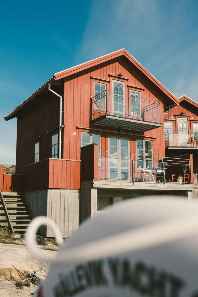 Sjöstuga på Hotel Strana i Hälleviksstrand