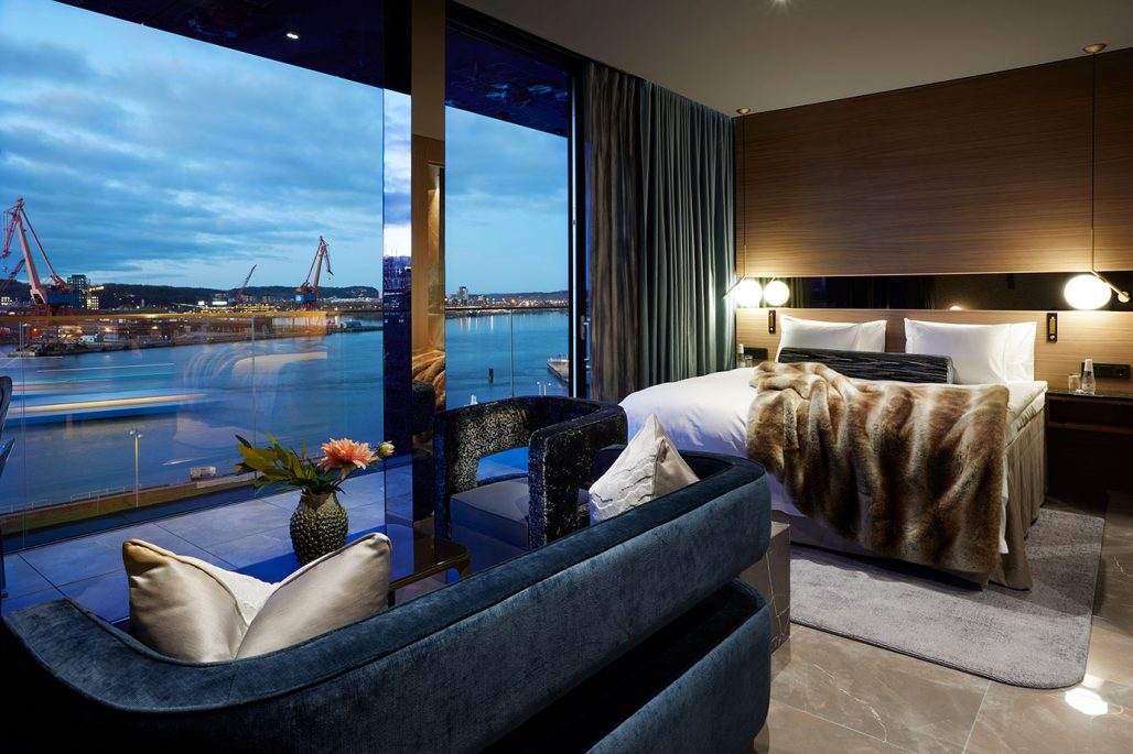 Penthousesvit på Hotel Riverton i Göteborg