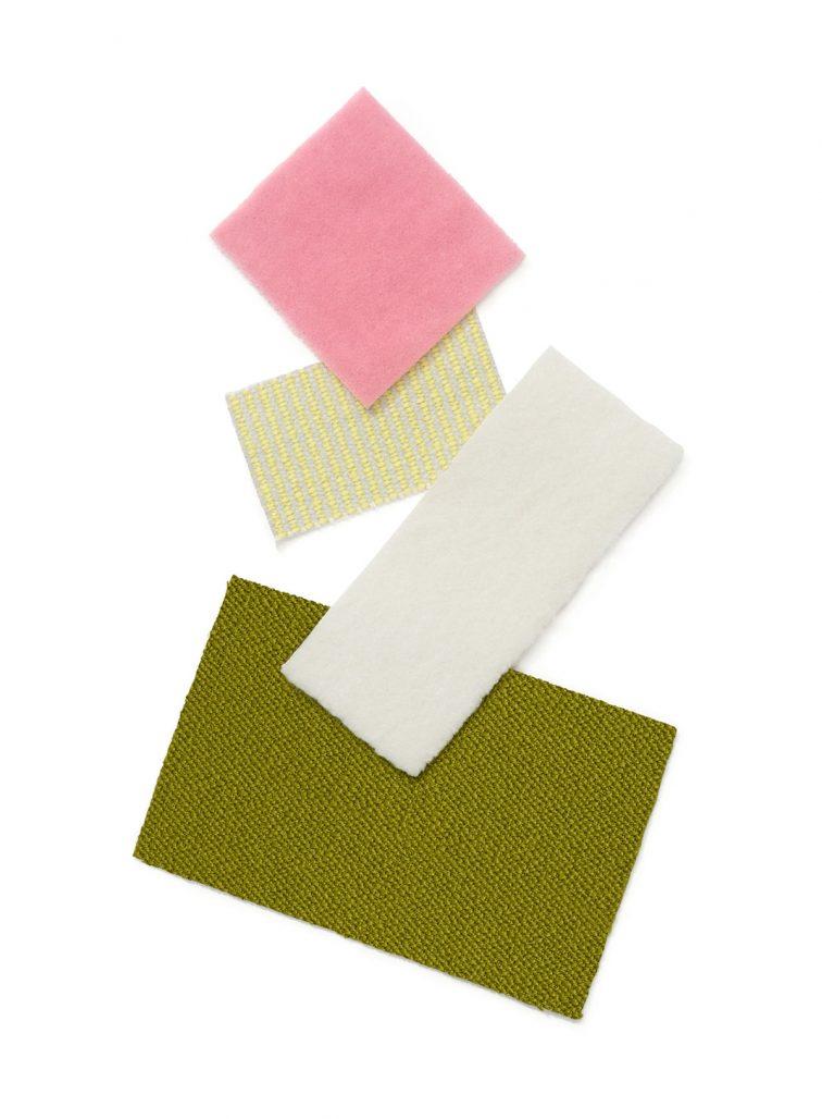 Textiler av Raf Simons för Kvadrat