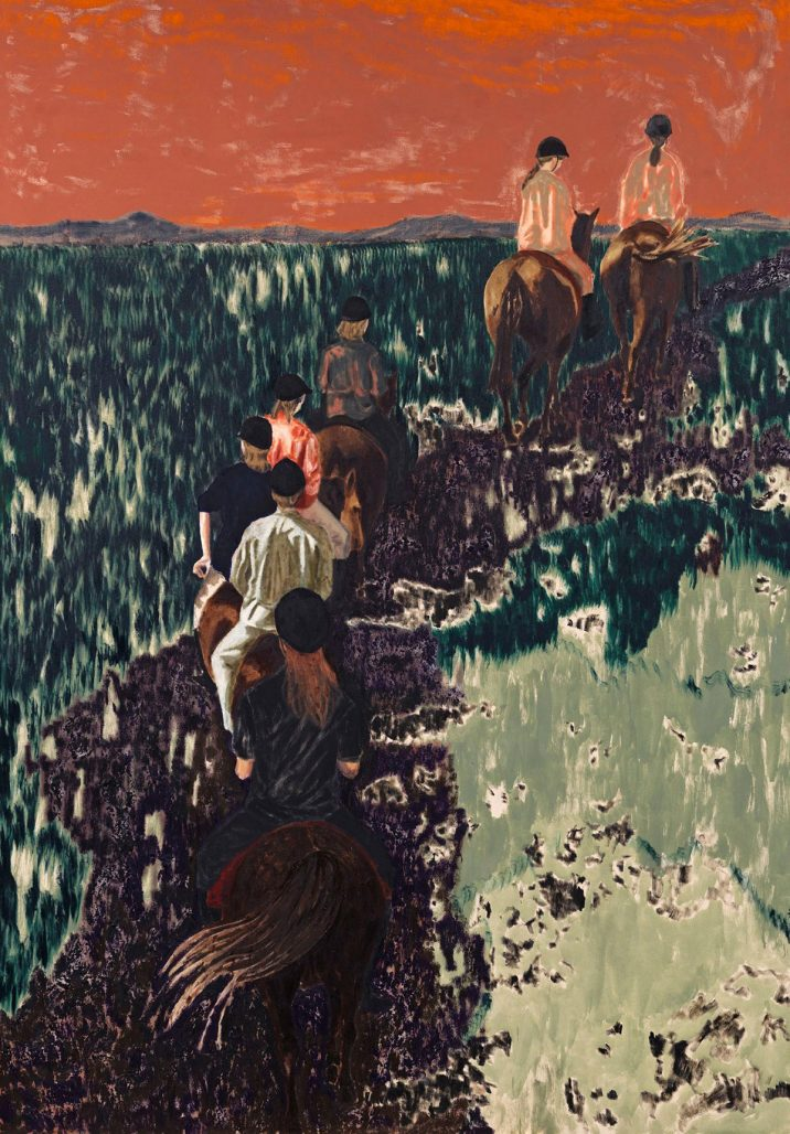 Målning av Karin Mamma Andersson