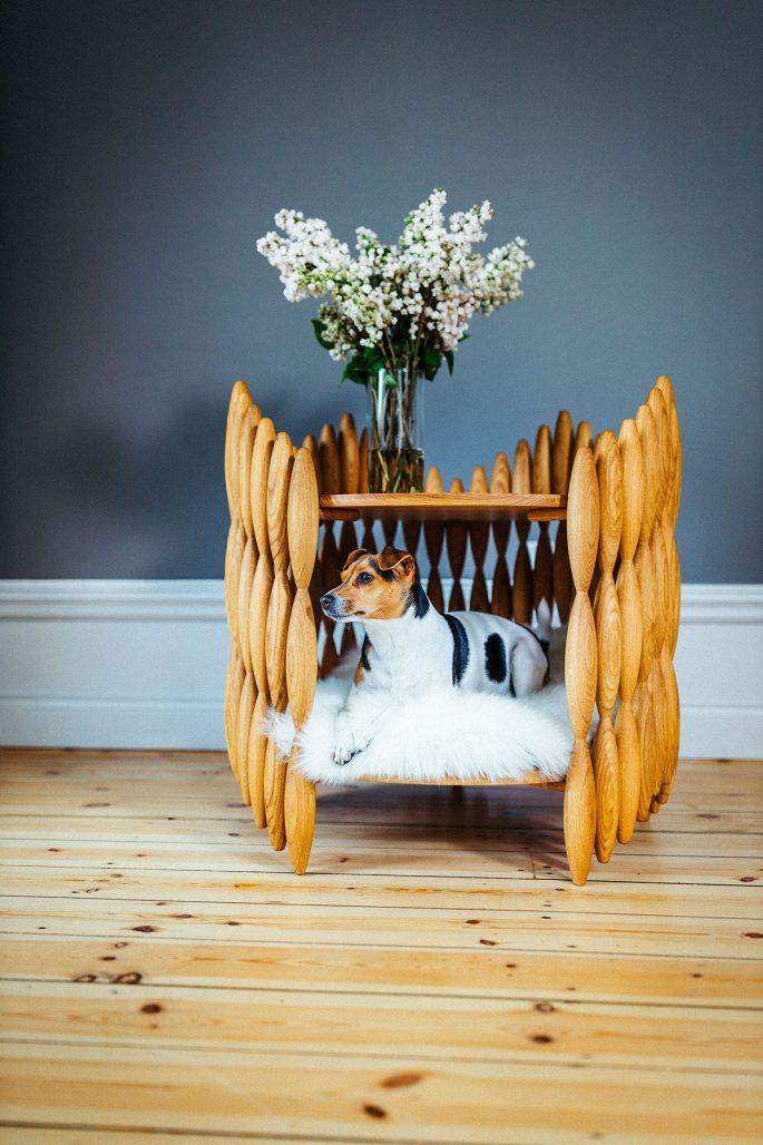 Möbler för husdjuren av Lisa Hilland