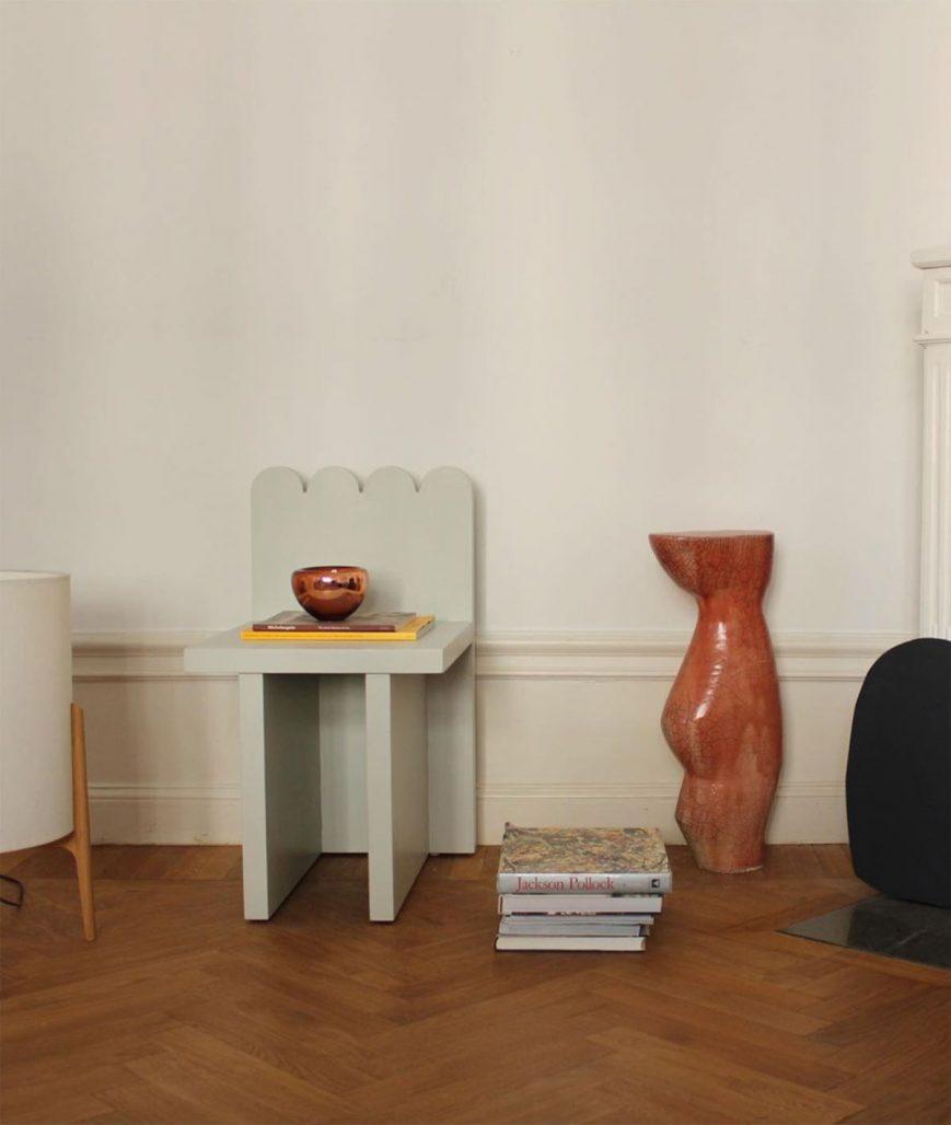 Stolen Scallop Chair av Studio Hilda