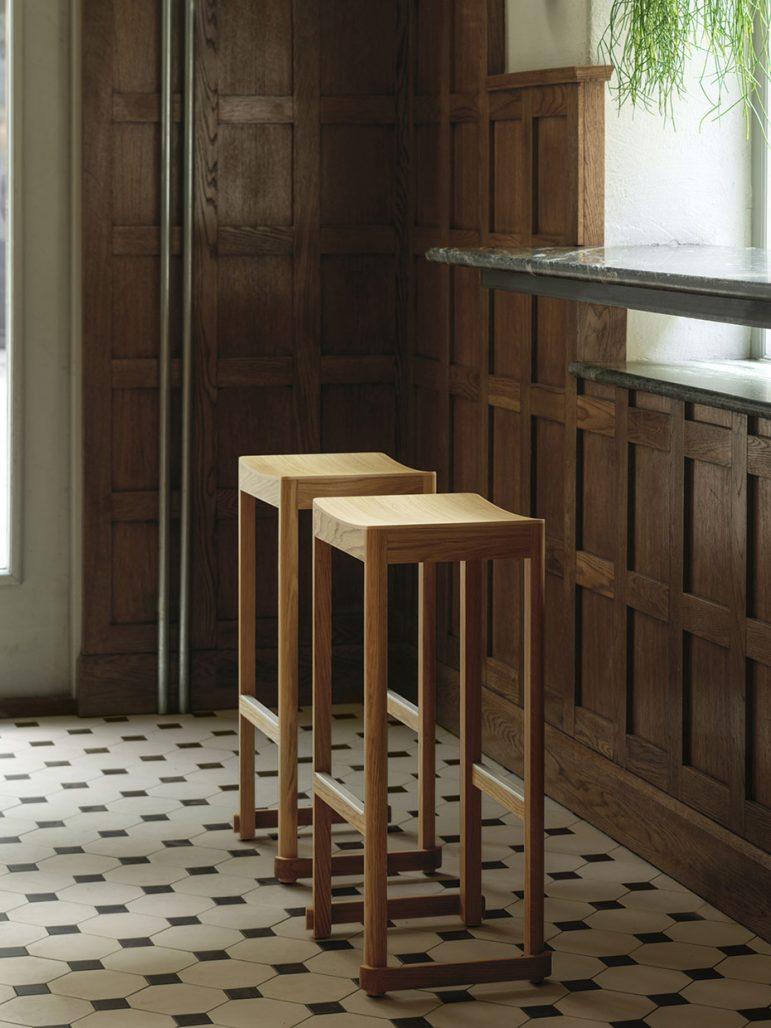Taf Studio har ritat Atelier Stool för Artek