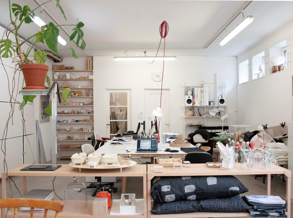 I studion hos Taf Studio