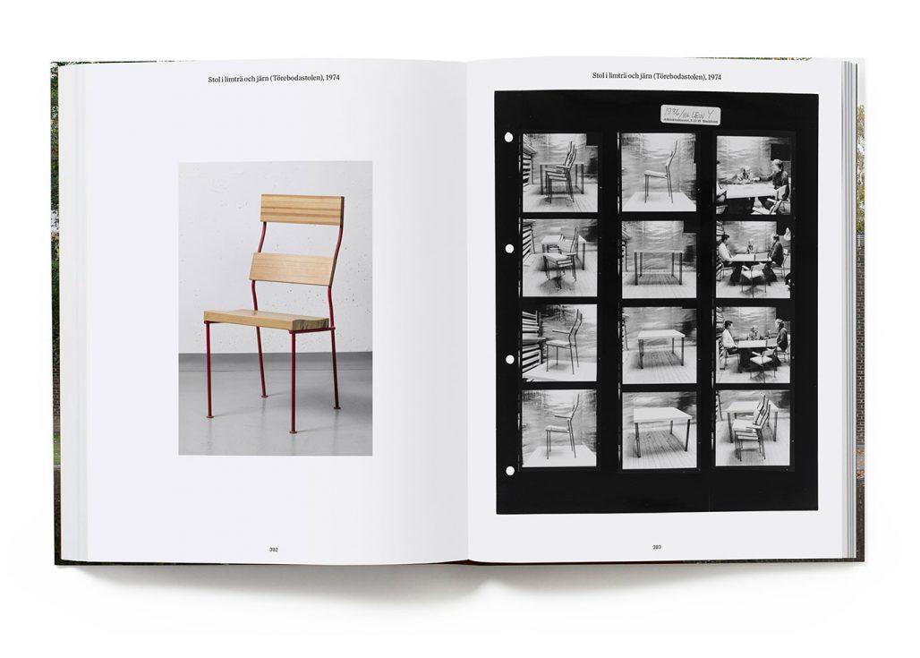 Uppslag ur boken Sigurd Lewerentz – dödens och livets arkitekt