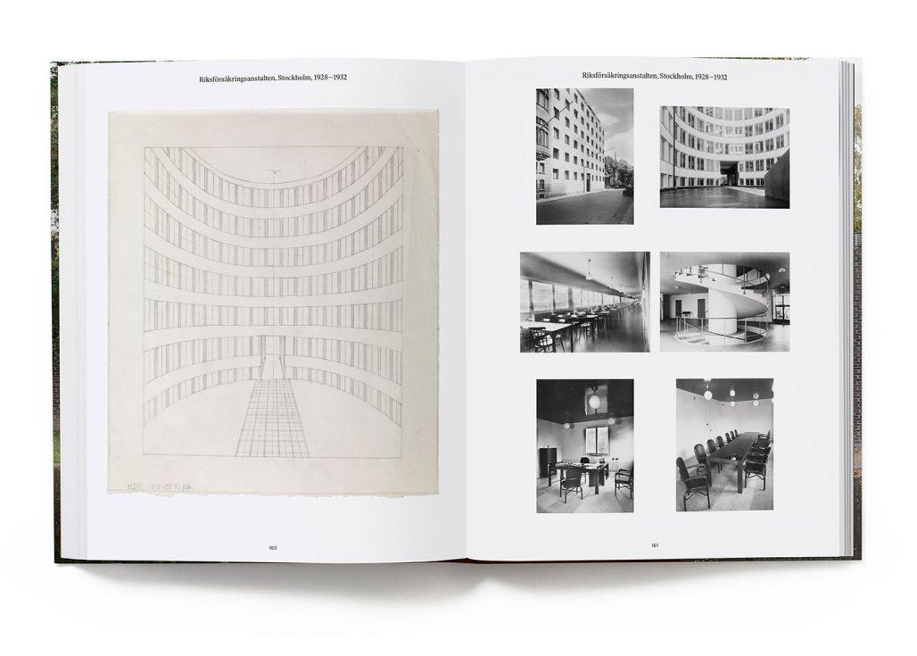Riksförsäkringsanstalten ur boken Sigurd Lewerentz – dödens och livets arkitekt