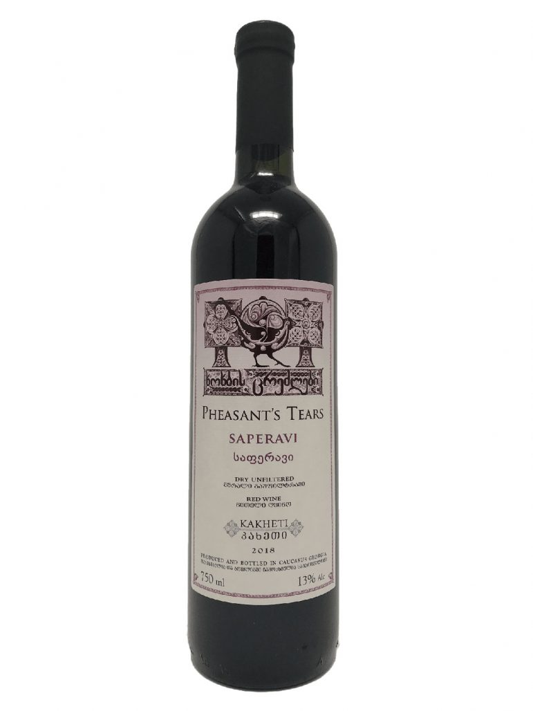 Vinet Pheasants Tears från Georgien