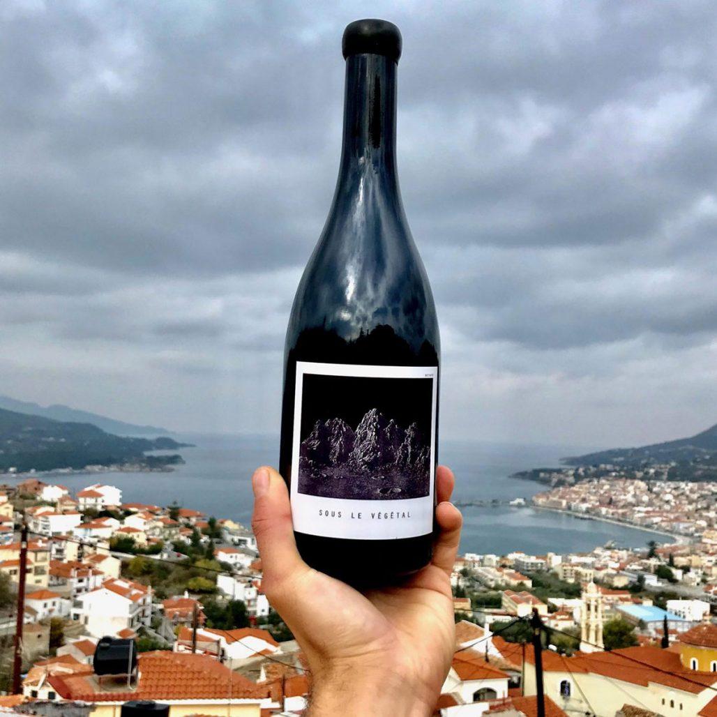 Vinet Sous le Végétal från Samos i Grekland