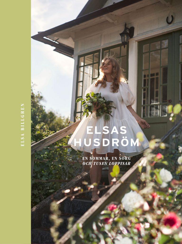 Omslaget till Elsa Billgrens bok Elsas Husdröm