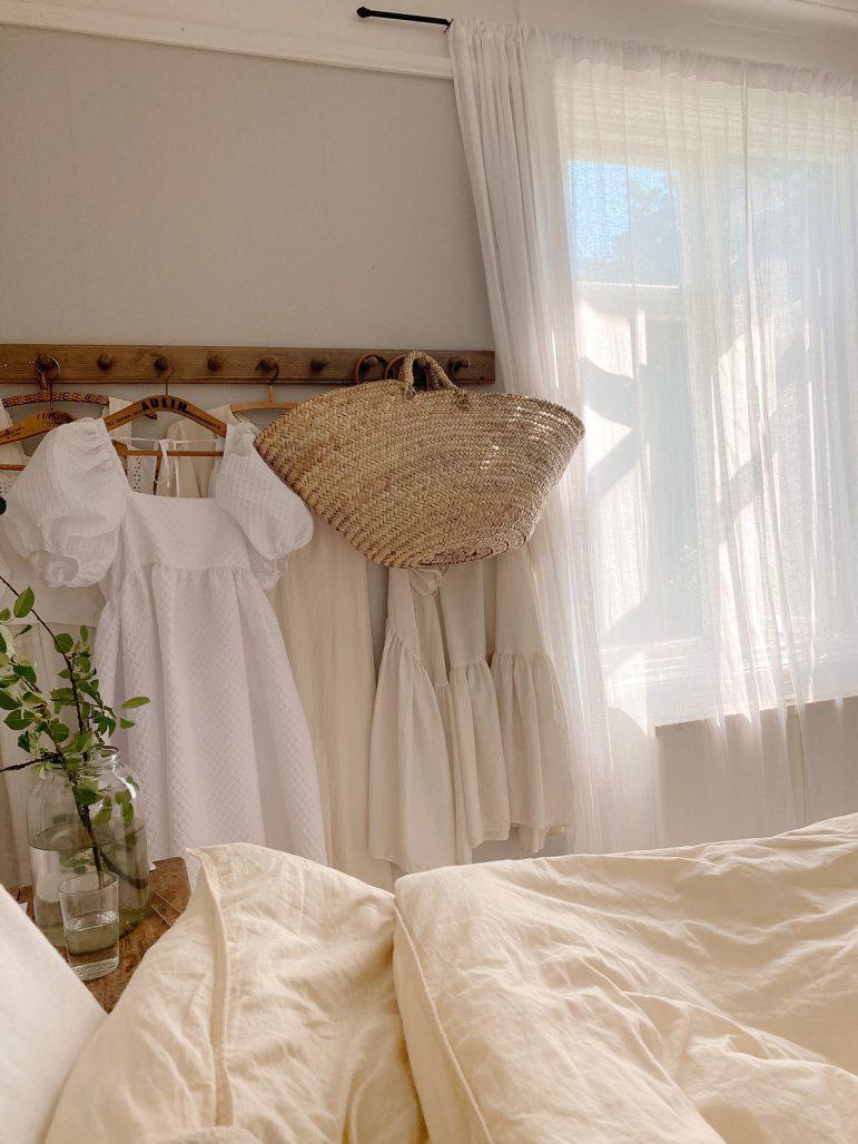 Elsa Billgrens sovrum i Gotlandshuset