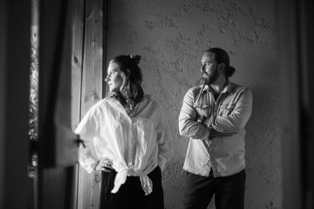 Lisa Emanuelsson och Niclas Franzén, grundarna av Artispelisse.