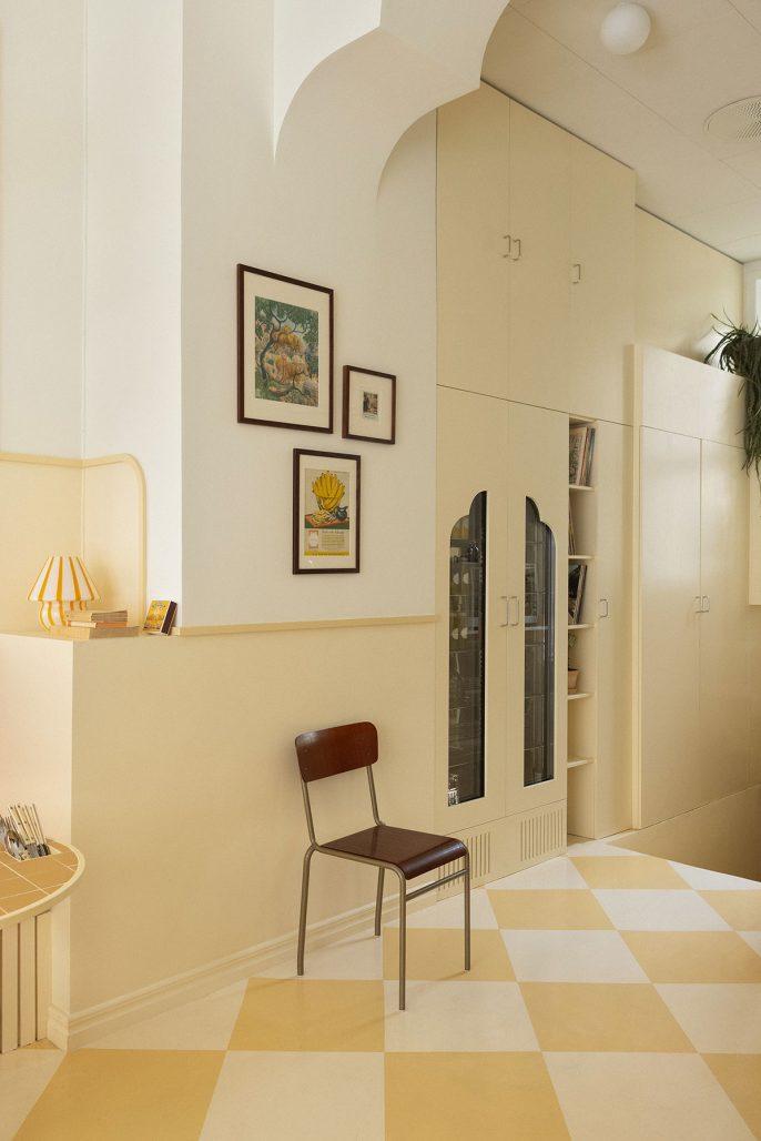 Pasteller i inredningen av Aska Architects