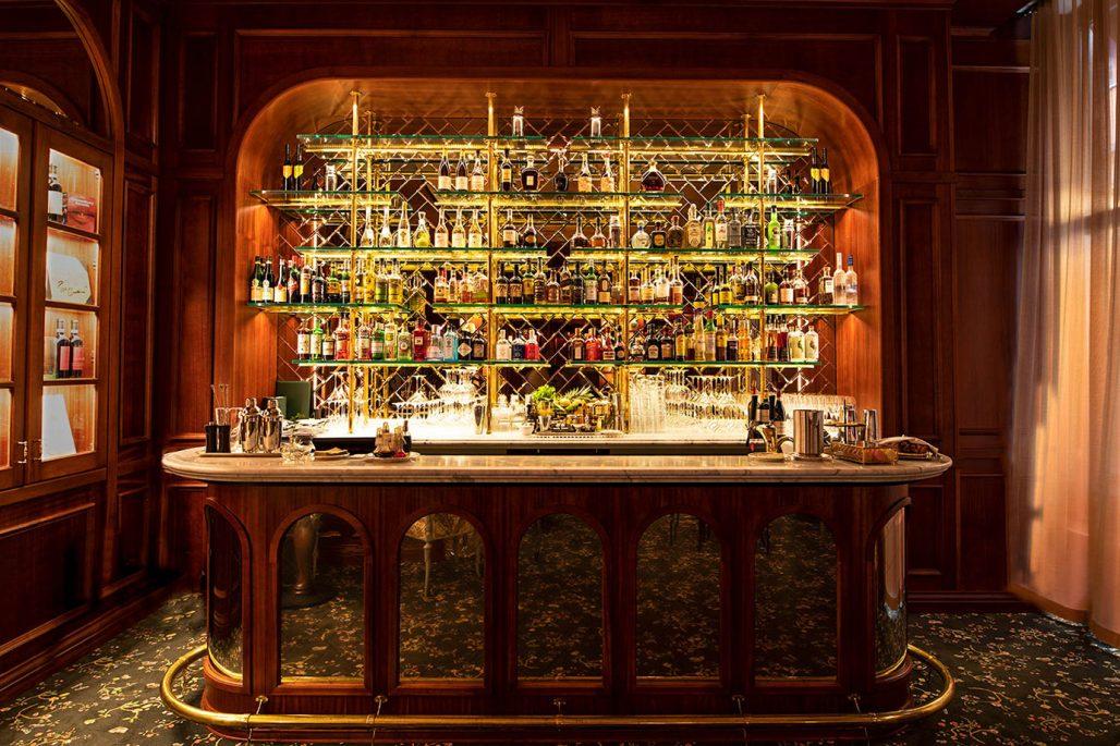 Bank hotel bar