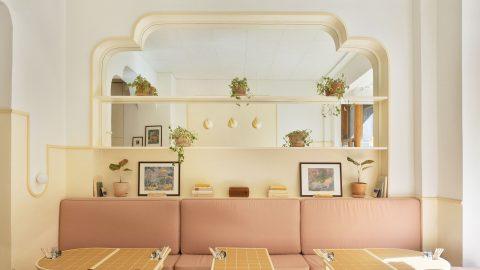 Kaféet Banacado inrett av Aska Architects