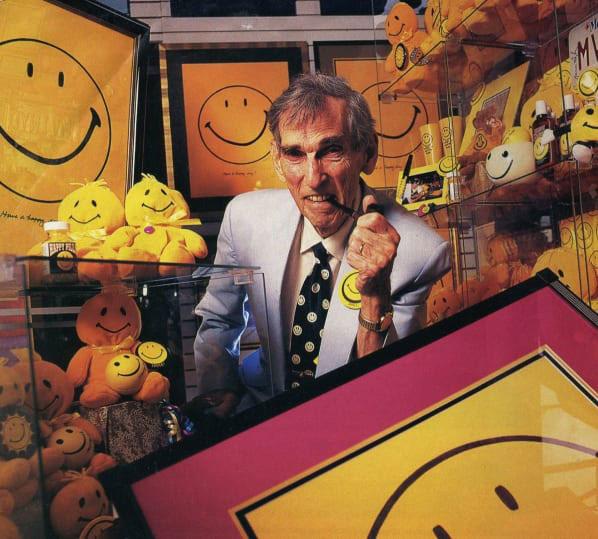 Harvey Ross Ball, skaparen av smileyn