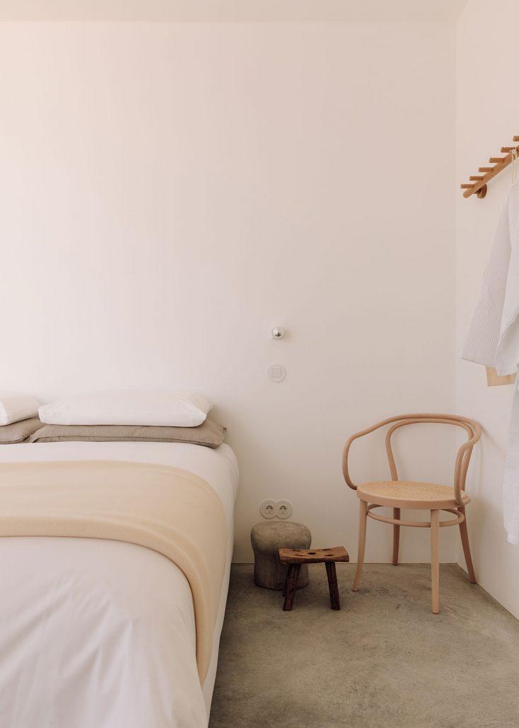 Sovrum i Casa Um i Algarve