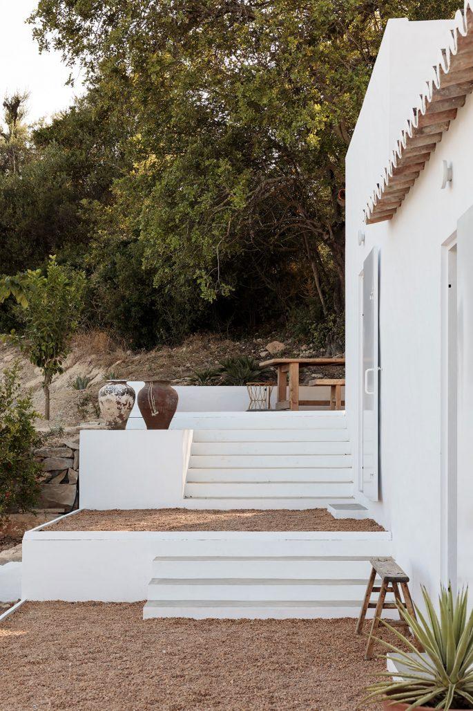 Utsidan av Casa Um i Argarve