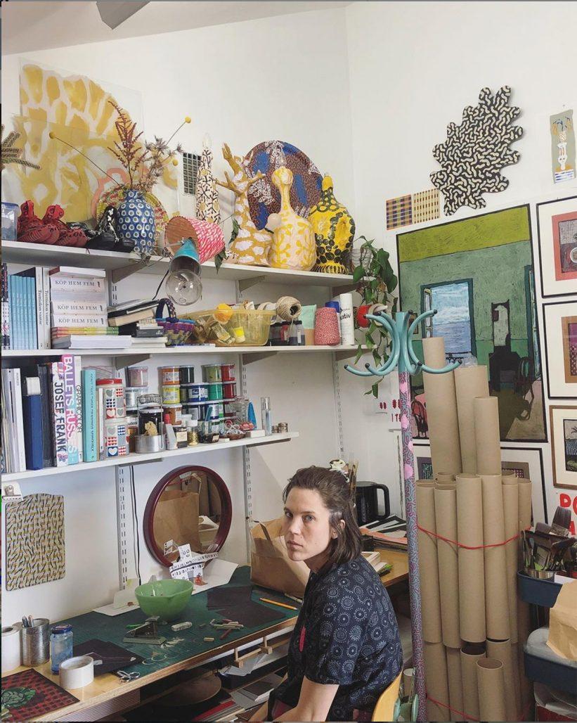 Siri Carlèn och hennes konst.