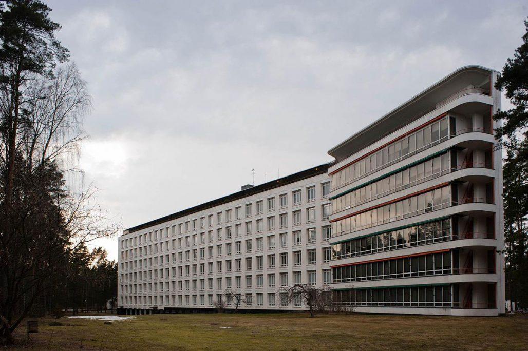 Pemars sanatorium av Alvar och Aino Aalto