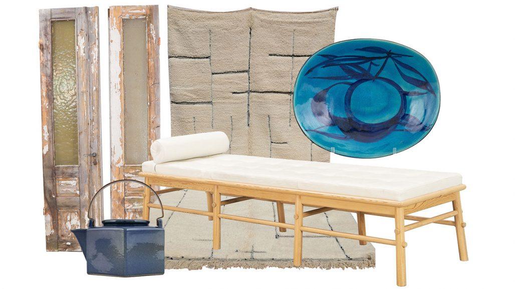 Auktionsfynd – tekanna av Signe Persson-Melin, matta och dagbädd från Ikea