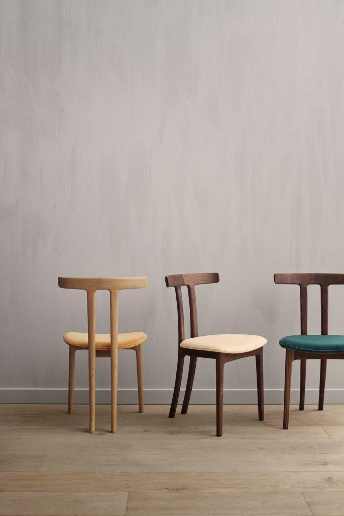 OW58 T-Chair av Ole Wanscher