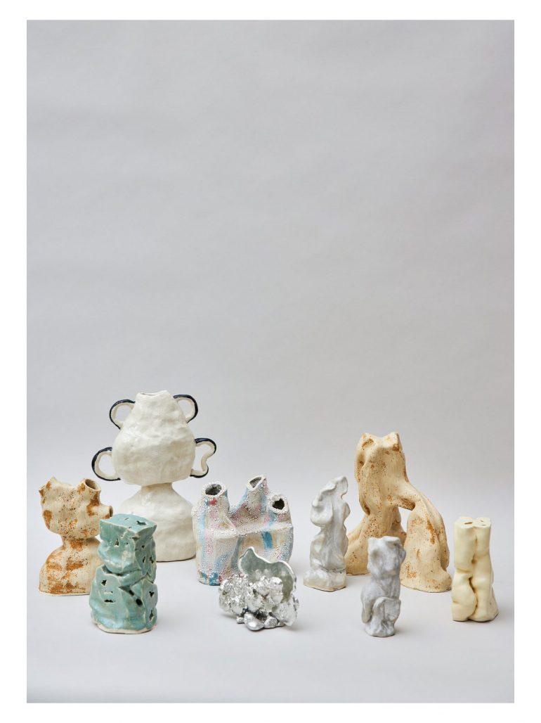 Funktionella skulpturer av Kassandra Widmark Utas via The Ode To