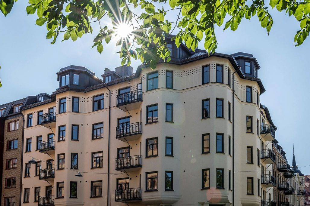 Linnéstaden i Göteborg.