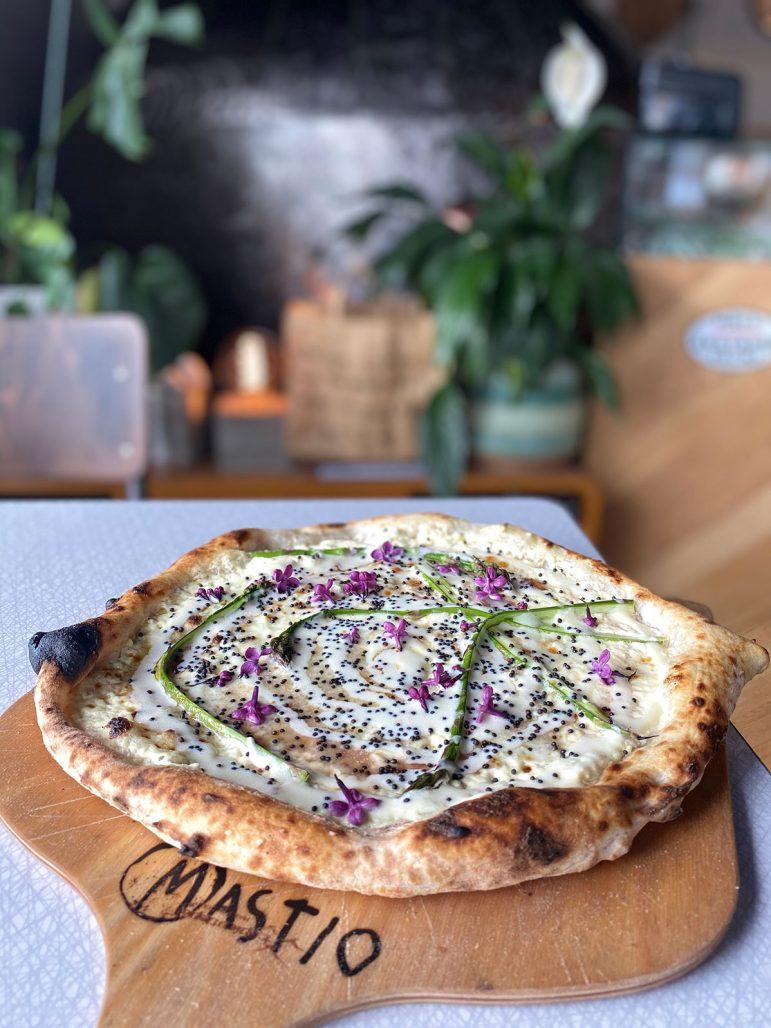 Pizza från Mastio