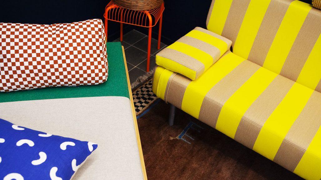 Omklädda möbler av Adina Asplund