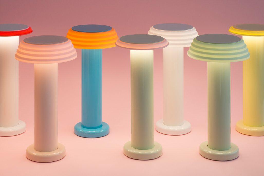 Färgglada lampor