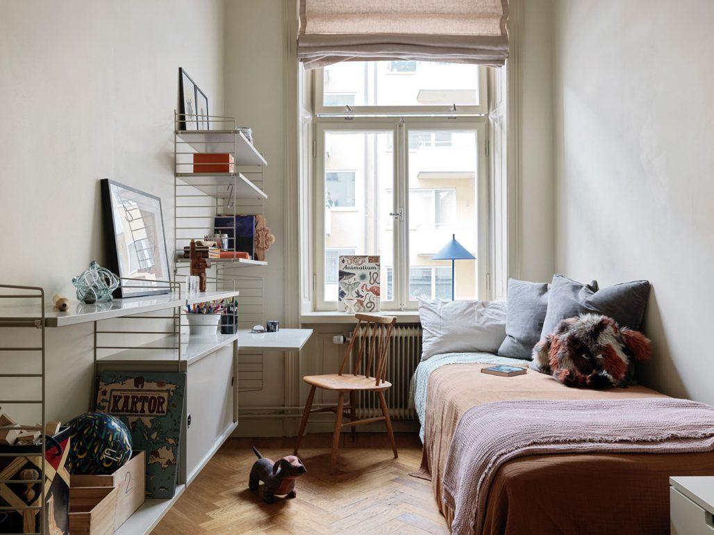 Inspiration till ett litet sovrum